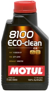 Motul 5W-30 8100 eco-clean C2 1l