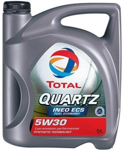 Total 5W-30 QUARTZ INEO ECS 5l