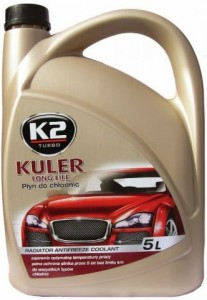 K2 kuler long life -35°C zielony 5L
