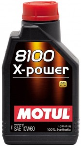 Motul 10W-60 8100 X-power 1L