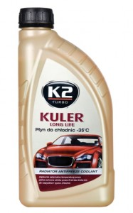 K2 kuler long life -35°C zielony 1L