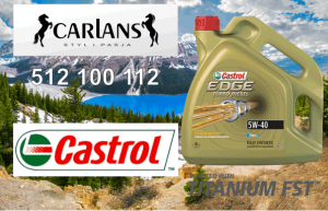 Castrol 5W-40 EDGE Turbo Diesel 4L