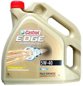 Castrol 5W-40 EDGE Turbo diesel 5L
