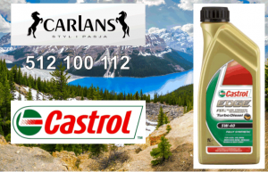 Castrol 5W-40 EDGE Turbo Diesel 1L