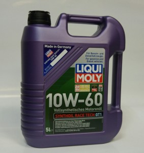Liqui Moly 10W-60 Synthoil Race Tech GT1 5L